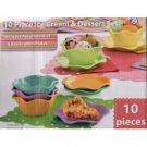 Ice Cream & Dessert Set 10 Piece