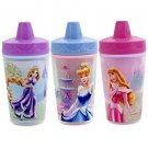 Disney Limited Addition Insulated Sippy Cups 3 Pack Princess Reusable