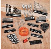 Black & Decker 195 Pc Set Bits & Driver Set