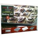 Nordi-Ware 4 Piece Non-Stick Commercial Baking Set