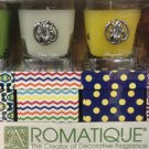 Aromatique Decorative Scented Candles 4 Pk