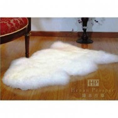 Sheepskin Rug 100% Sheepskin  41``x 25``