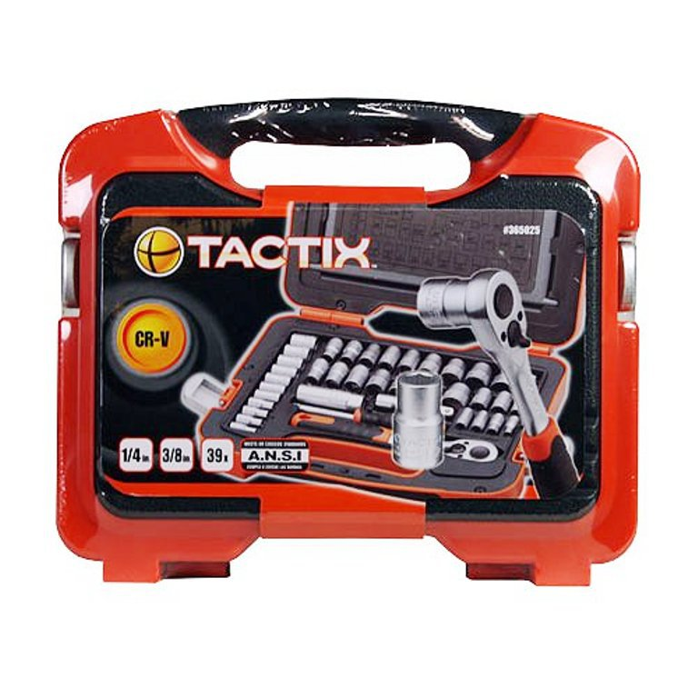Tool Set Tactix 39 Piece Socket Set With Hard Case