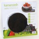 Kamenstein Digital Kitchen Scale BLACK