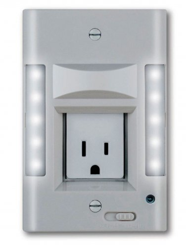 Capstone led wall plate nightlight safety security in one unit aloadofball Image collections