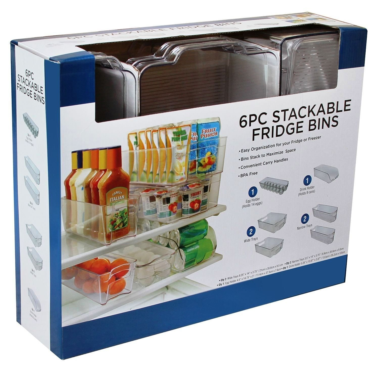 Storage Kitchen Bins Set