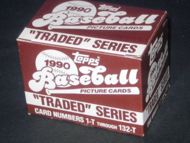 TOPPS TRADED 1990