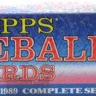TOPPS 1989 SET