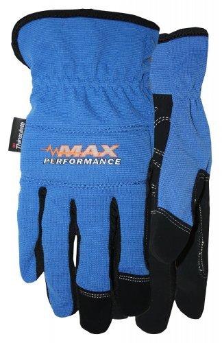MAX PERFORMANCE GLOVE COLOR - BLUE \ SIZE - MEDIUM