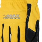 MAX PERFORMANCE GLOVE COLOR - YELLOW \ SIZE - MEDIUM
