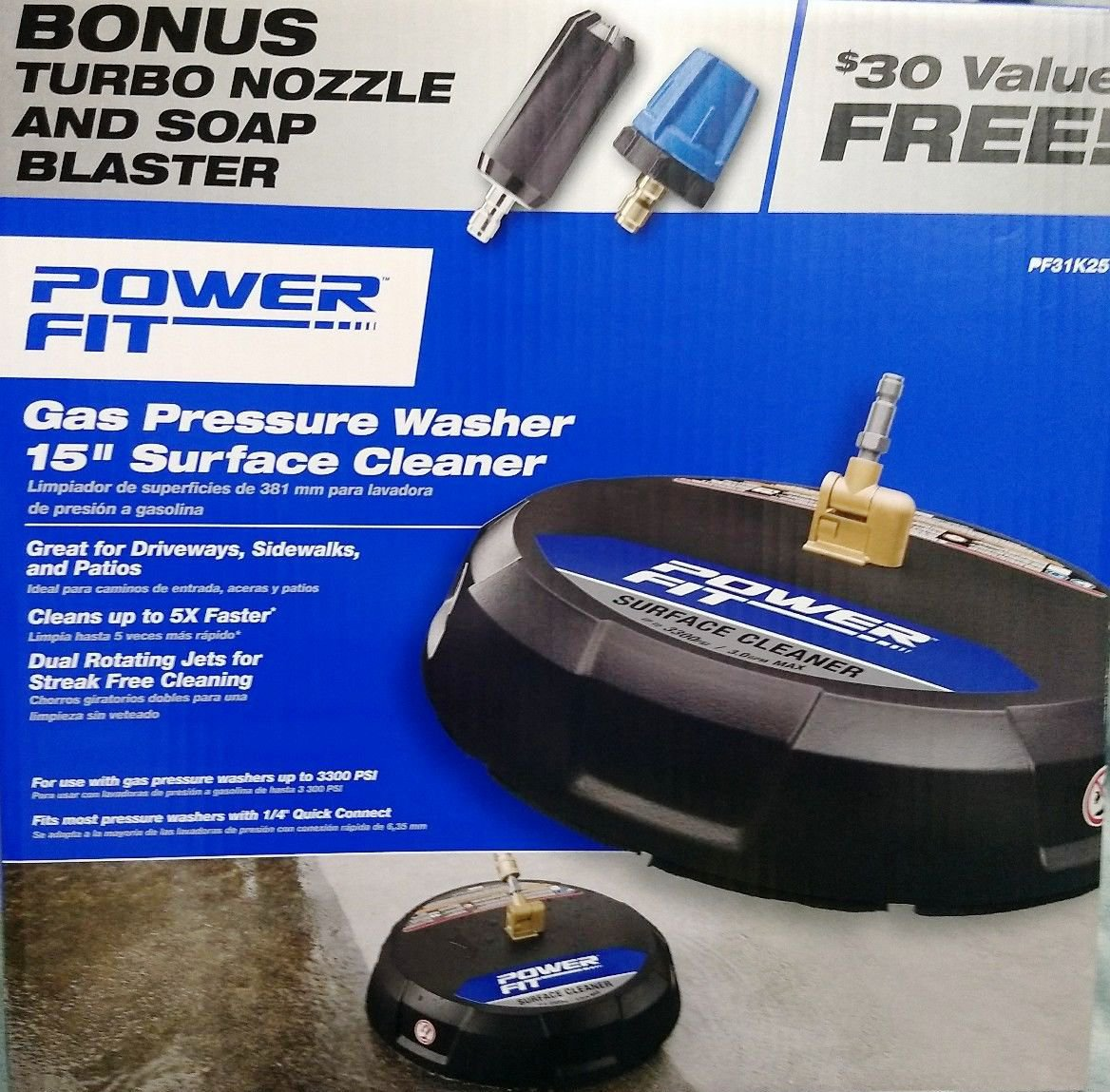 Power Fit 15 Quot Surface Cleaner For Power Washers