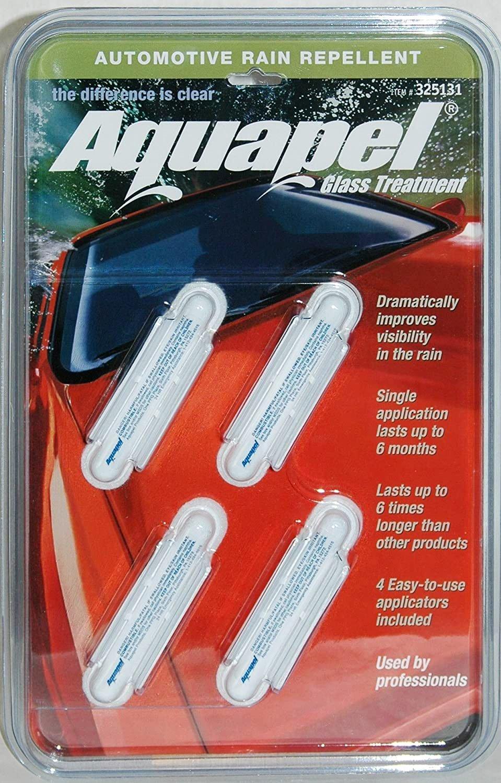 AQUAPEL Glass Treatment 4 Pack