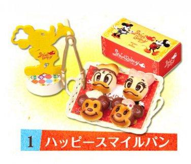 Re-ment Miniature Disney Mickey Minnie Bakery Bread ** Free Shipping
