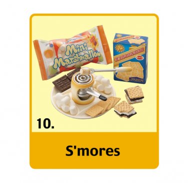 Re-ment Dollhouse Miniature US Sweet S'mores Marshmallow ** Free Shipping