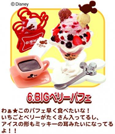 Re-ment Dollhouse Miniature Disney Mickey Cafe Ice cream Sundae Coffee ** Free Shipping