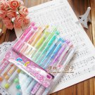 Korean Stationery Office Soft Jelly Sign Pen set 12 Colour