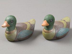 Ceramic Duck Figurines
