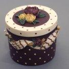 """Trinket Box """"Ruby"""" by Sandy Lynam Clough"""