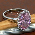Awesome Pink Kunzite Ring