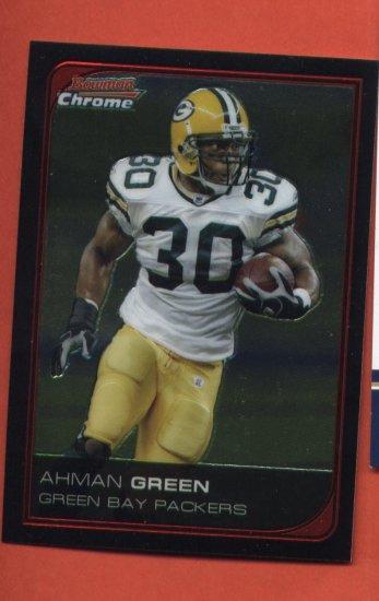 Ahman Green #135 Green Bay Packers 2006 Bowman Chrome