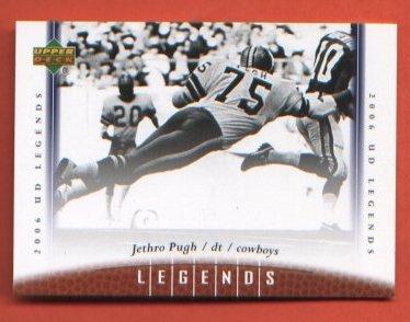 Jethro Pugh #63 Dallas Cowboys 2006 Upper Deck Legends