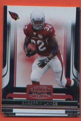 Edgerrin James #1 Cardinals 2006 Donruss Gridiron Gear