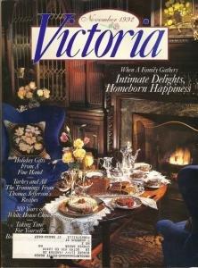VICTORIA from November 1992 Homeborn Happiness, Thomas Jefferson's recipes