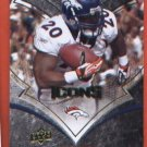 Travis Henry #29 BRONCOS 2008 UD ICONS
