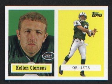 Kellen Clemens 20 of 22 New York Jets 2006 Topps Turn Back the Clock