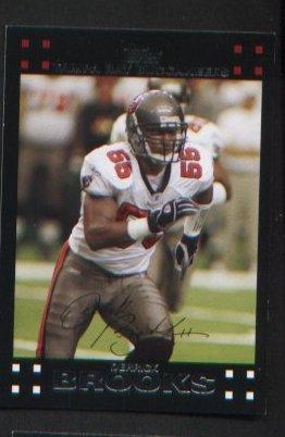 Derrick Brooks #282 Buccaneers 2007 Topps