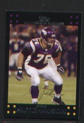 Steve Hutchinson #284 Vikings 2007 Topps