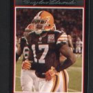 Braylon Edwards #63 BROWNS 2007 Bowman