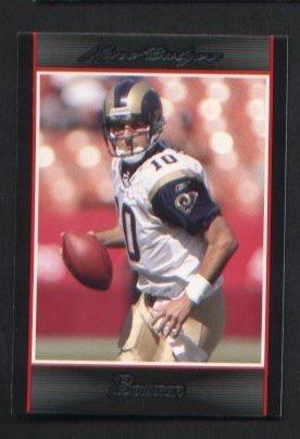 Marc Bulger #23 St Louis Rams 2007 Bowman