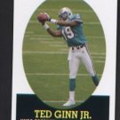 Ted Ginn Jr. #2 of 22  ROOKIE Miami Dolphins 2007 Topps Turn Back the Clock