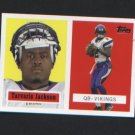 Tavaris Jackson # 11 of 22 Vikings ROOKIE 2006 Topps Turn Back the Clock