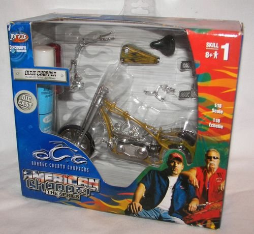 Orange County Choppers DieCast Model Dixie Chopper Scale 1:18