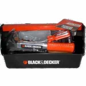 Black and Decker Junior Carrying Tool Set