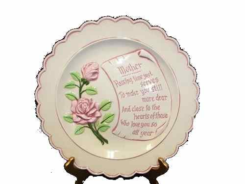 Mother Day Ceramic Plate