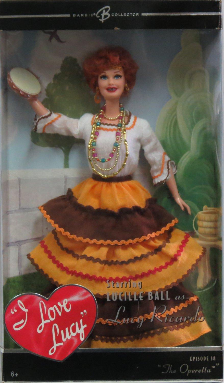 "Barbie I Love Lucy ""The Operetta"" Doll"