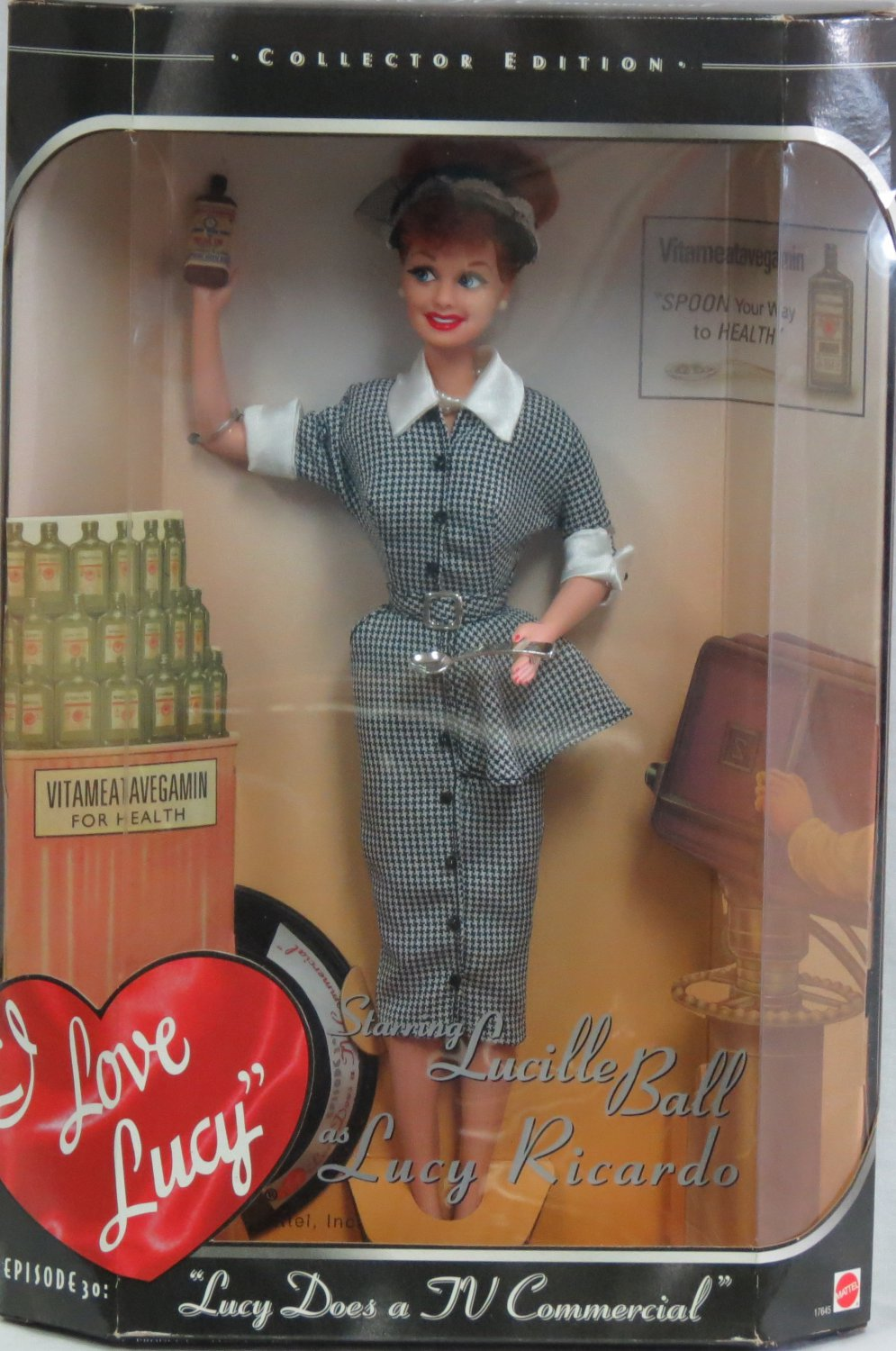 Barbie I Love Lucy Lucy Does a TV Commercial Doll