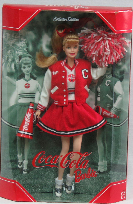 Coca-Cola Barbie Doll Cheerleader