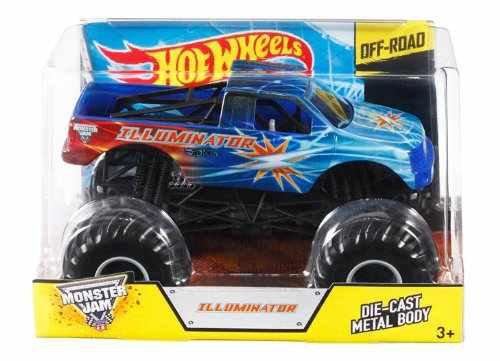 Hot Wheels: Monster Jam Illuminator Off Road  1:24 Scale