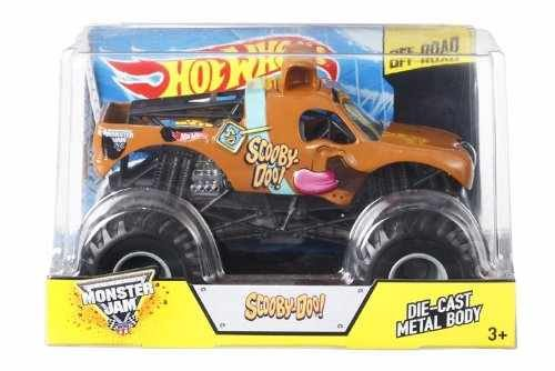 Hot Wheels: Monster Jam Scooby-Doo Off Road  1:24 Scale