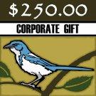 $250 Donation - Scrub-Jay Trail  (Corporate Gift)