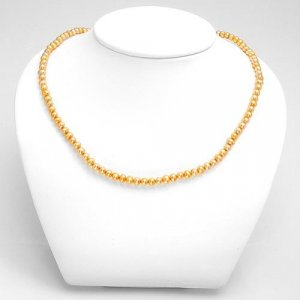 """Brown Freshwater 18"""" Pearl Necklace"""