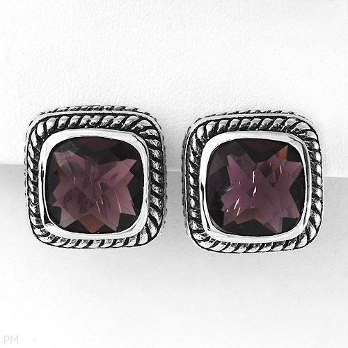 Sterling & Crystal Earrings