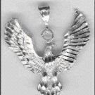 Sterling Silver DC Eagle Pendant