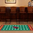 ARIZONA CARDINALS NFL FOOTBALL TEAM FIELD RUG GAME MAT