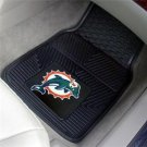 MIAMI DOLPHINS NFL FOOTBALL CAR MATS GAME RUG FREE SHIP