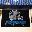 CAROLINA PANTHERS NFL FOOTBALL TEAM HELMET RUG GAME MAT